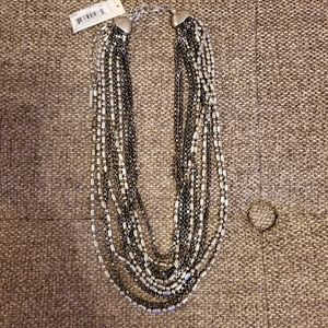 Kenneth Cole New York 10 Strand Necklace
